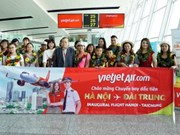 Vietjet Air marks first flight on Hanoi – Taichung route