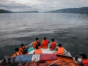 Indonesia uses sonar technology in Lake Toba search