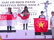 ASEAN Inline Freestyle Skating Championship wraps up