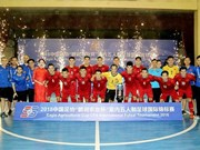 Vietnam runners-up of int'l futsal tourney