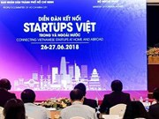 Forum connecting domestic, foreign start-ups closes