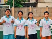 Vietnamese children join FIFA football festival in Moscow