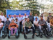 Foreign organisations support children, disabled people in Thua Thien-Hue