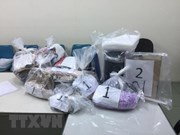 HCM City Customs seize drugs sent from Europe