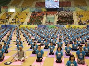 Fourth International Day of Yoga comes to Gia Lai