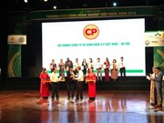 85 products win Vietnam Gold Farming Brand