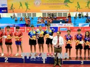 Vietnam wins three golds at 3rd Vinh Long In'tl Table Tennis