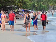 Over 93 percent of foreigners satisfied when touring Vietnam