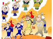 Cartoons spice up World Cup 2018