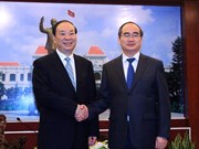 Ho Chi Minh City leader receives Chinese Party official