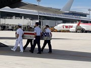 US servicemen's remains repatriated