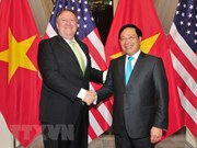 Deputy PM Pham Binh Minh holds talks with US State Secretary Pompeo