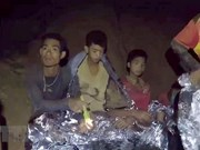 First four of trapped Thai football team rescued