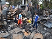 Expats affected by Phnom Penh fire receive support