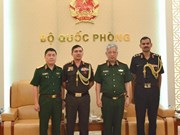 Deputy Defence Minister receives Indian, Israeli military attachés
