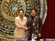 Female Japanese parliamentarians welcomed in Hanoi