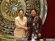 Female Japanese parliamentarians welcomed in Hanoi