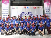 Beach cleanup campaign launched in Hanoi