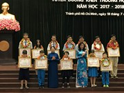 HCM City honours 778 outstanding students