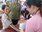 Quang Tri: Poor ethnic minority people get free health checkups