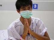 Thailand: Rescued football team gets ready to exit hospital