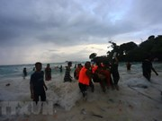 At least six people killed in boat capsize in Indonesia