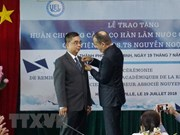 France's Order of Academic Palms presented to Vietnamese scholar