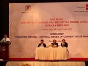 Workshop on transfer pricing held in Hanoi