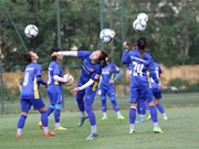 National women football team prepares for ASIAD 2018