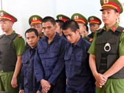 Binh Thuan sentences 10 men to prison for social disturbance