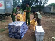 Cigarette smuggling remains unabated