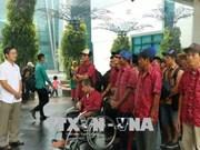Indonesia returns 42 detained Vietnamese fishermen