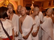Thailand: rescued soccer team enter monkhood