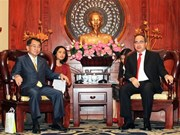 HCM City leader receives Japanese parliamentarians