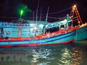 Ca Mau fishermen receive loans to build or upgrade ships
