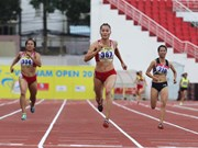 Vietnamese athletes shine at Int'l Track & Field – Vietnam Open 2018