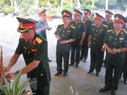 Tay Ninh: Memorial service held for fallen soldiers