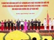 Hanoi marks 10 years of administrative boundary adjustment