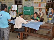 Cambodia: More than 80 percent of voters join general election