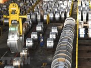 Industrial production expands 10.9 percent in seven months