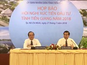 Tien Giang to host investment conference next week