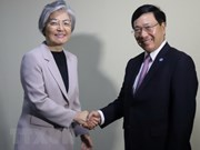 Vietnamese FM meets regional counterparts on sidelines of AMM-51