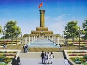 Hanoi speeds up construction of symbolic flagpole in Ca Mau Cape