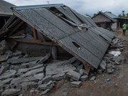 Indonesia accelerates rescue work for quake victims