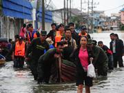 Thailand braces for flooding in southwestern region