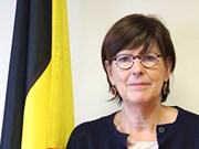 Outgoing Belgian ambassador receives friendship insignia