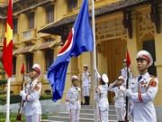 Hanoi hosts flag-raising ceremony to mark ASEAN establishment