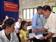AO/dioxin victims in Can Tho, Tien Giang receive support