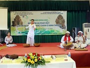 Measures sought to preserve Cham musical heritage