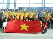 ASIAD 2018: Vietnamese football team arrives in Indonesia